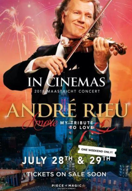Poster of Andre Rieu