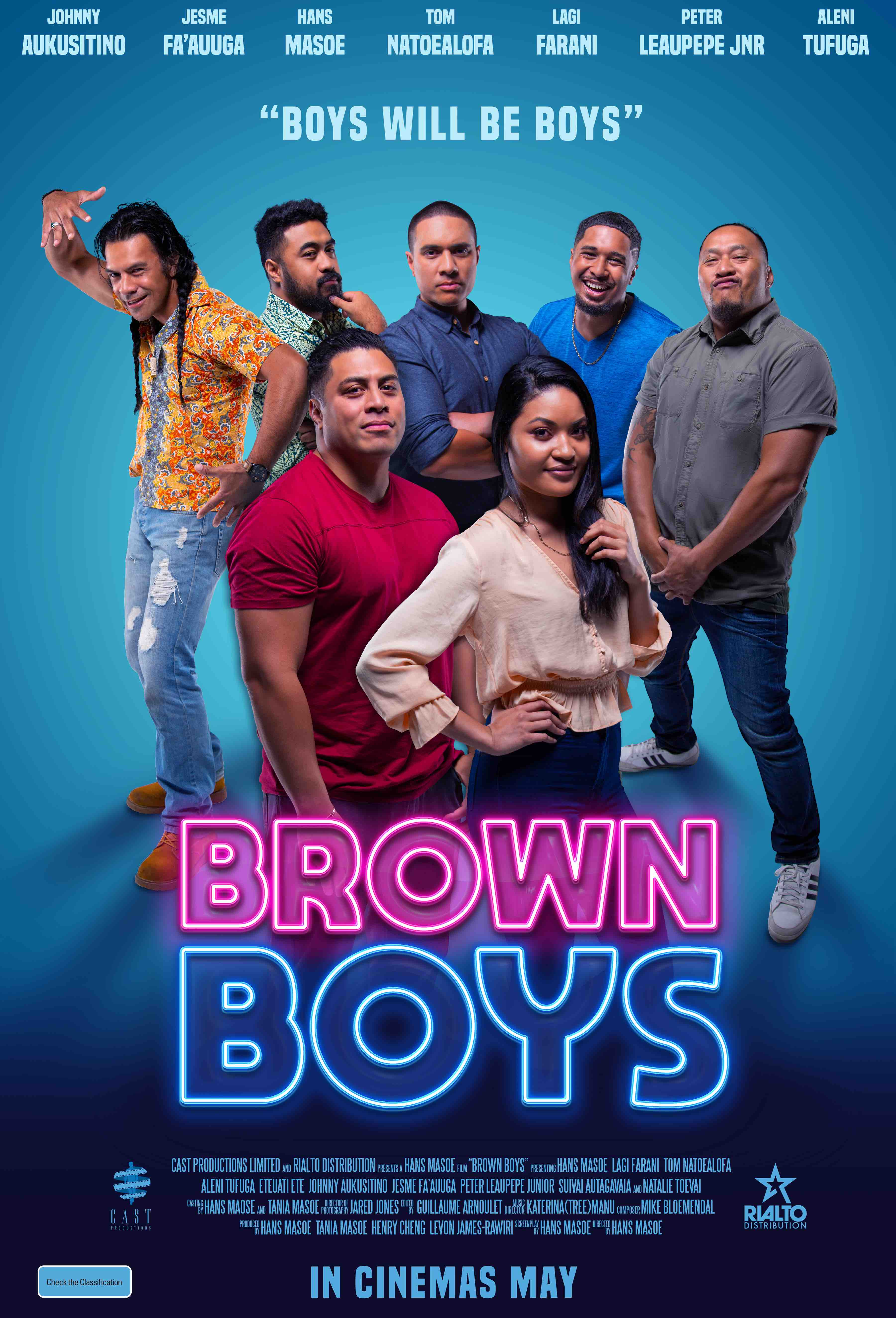 Poster of Brown Boys