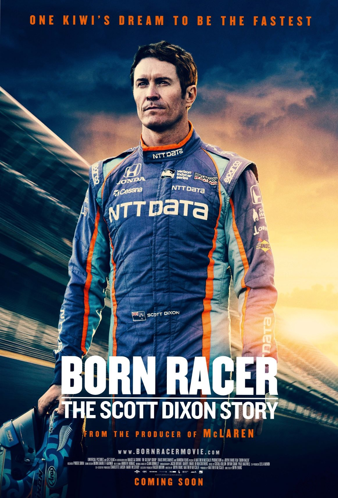 Poster of Born Racer: The Scott Dixon Story