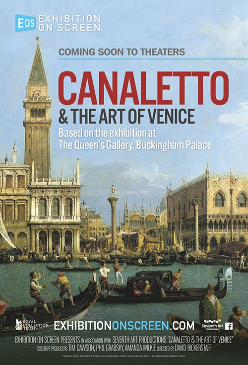Poster of Exhibition On Screen: Canaletto & the Art of Venice