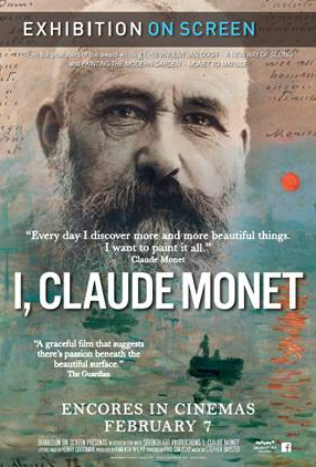 Poster of Exhibition on Screen: I, Claude Monet (Encore)