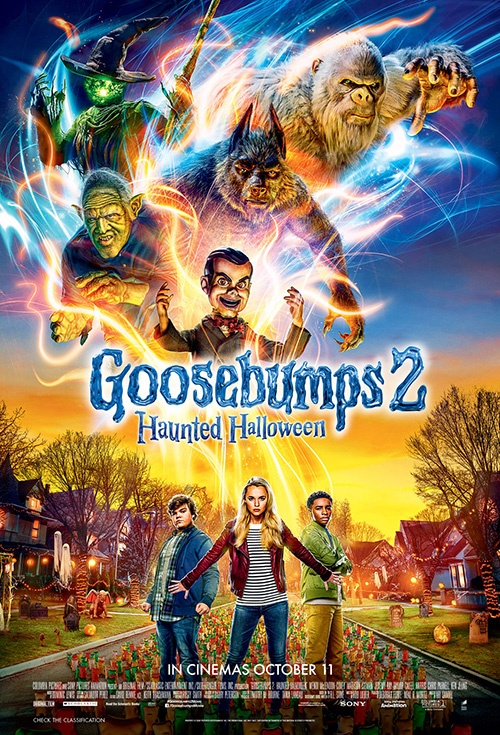 Poster of Goosebumps: Haunted Halloween