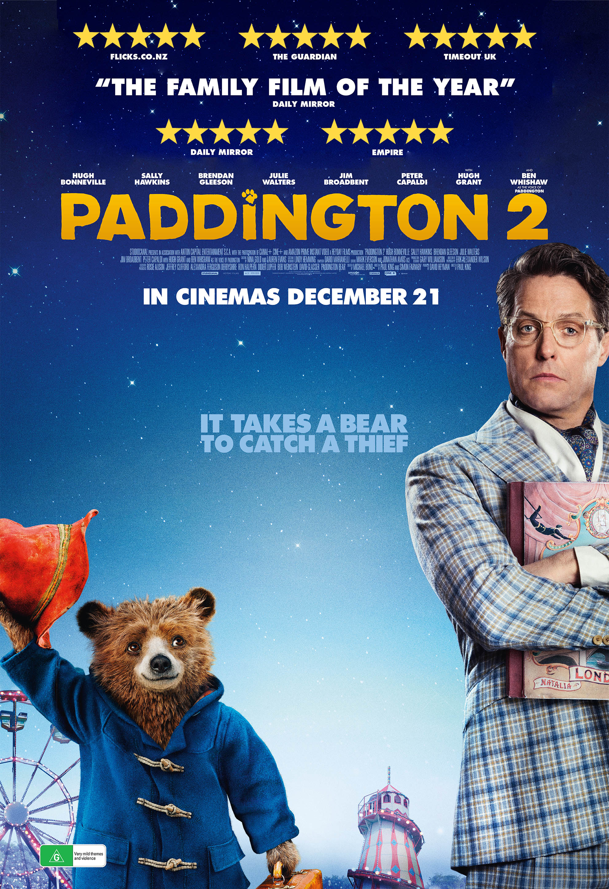Poster of Paddington 2