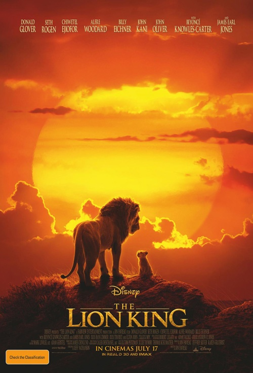 Poster of The Lion King (2019)