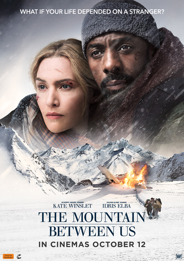 Poster of The Mountain Between Us
