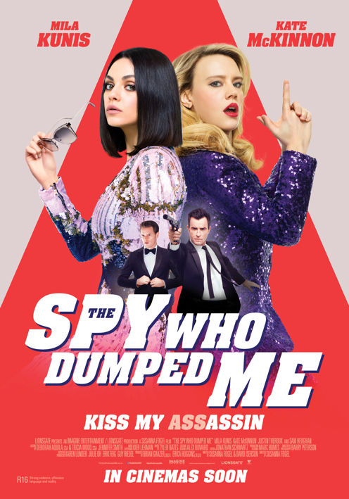Poster of The Spy Who Dumped Me