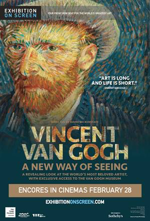 Poster of Exhibition On Screen: Van Gogh - A New Way of Seeing (Encore)