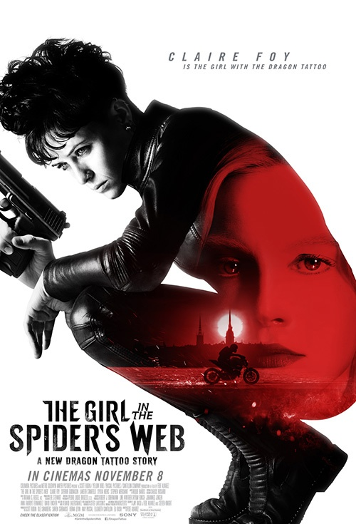 Poster of The Girl in the Spider