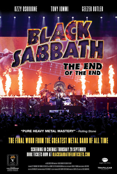 Poster for Black Sabbath: The End Of The End