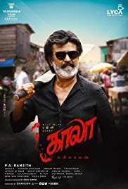 Poster for Kaala (Tamil)