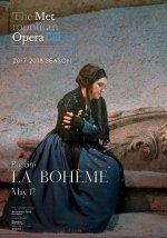 Poster of Met Opera 2017-18 Season: La Bohème
