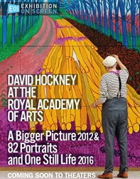 Poster of Exhibition On Screen: David Hockney at the Royal A