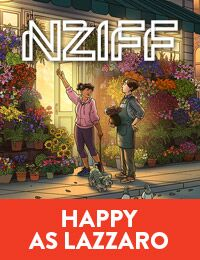 Poster of NZIFF: Happy as Lazzaro