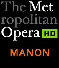 Poster of The Metropolitan Opera: Manon