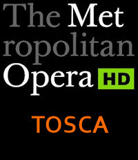Poster of The Metropolitan Opera: Tosca