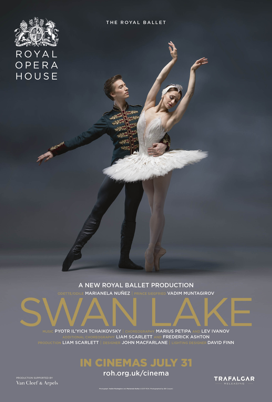 Poster for Royal Opera House: Swan Lake