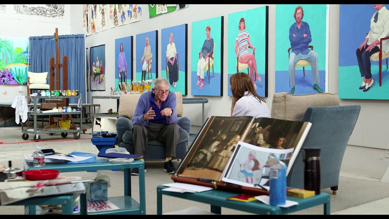 Image 1 for Exhibition On Screen: David Hockney at the Royal A