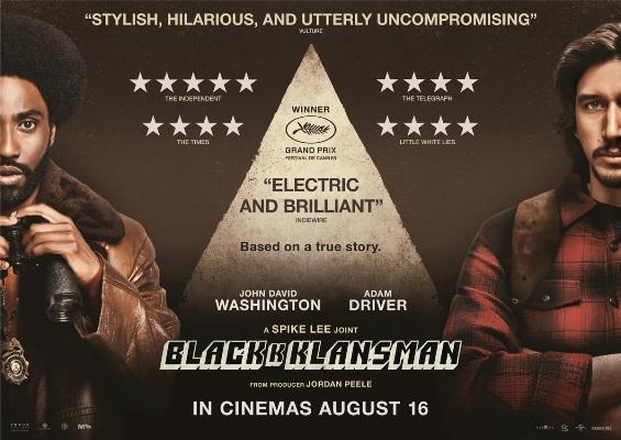 Image 0 for BlacKkKlansman