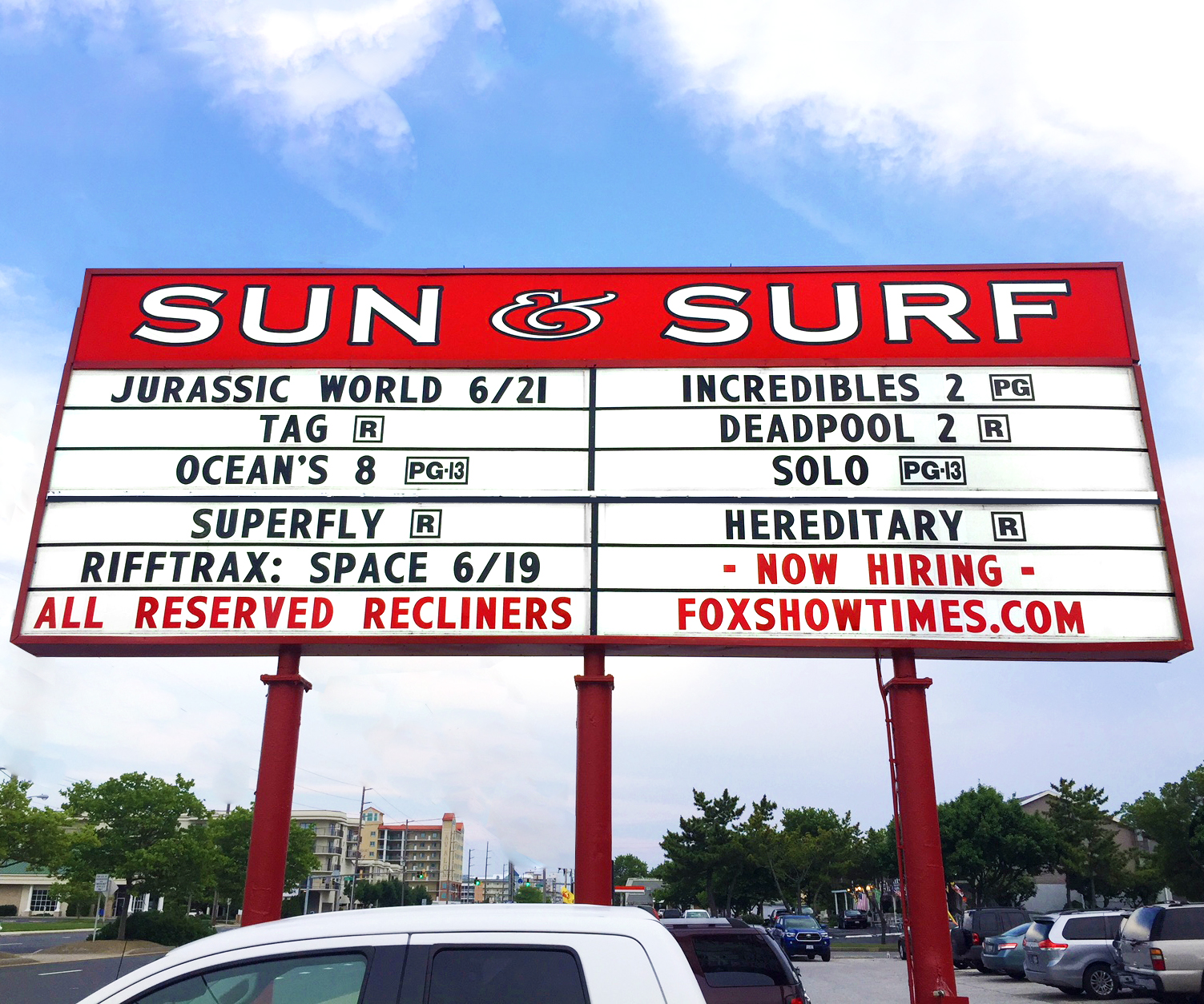 SUN & SURF CINEMA