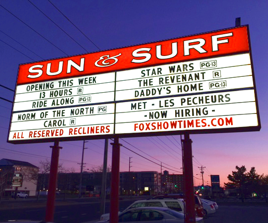 SUN & SURF CINEMA, MD