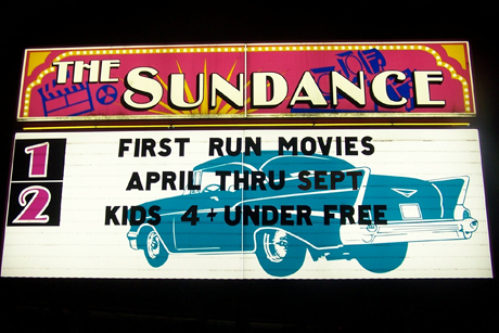 Sundance kid drive in theatre oregon ohio
