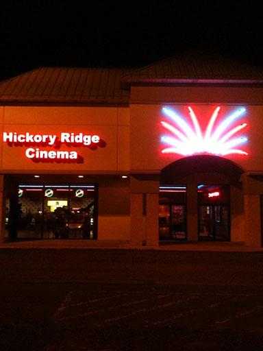 Showtimes | Hickory Ridge Cinemas