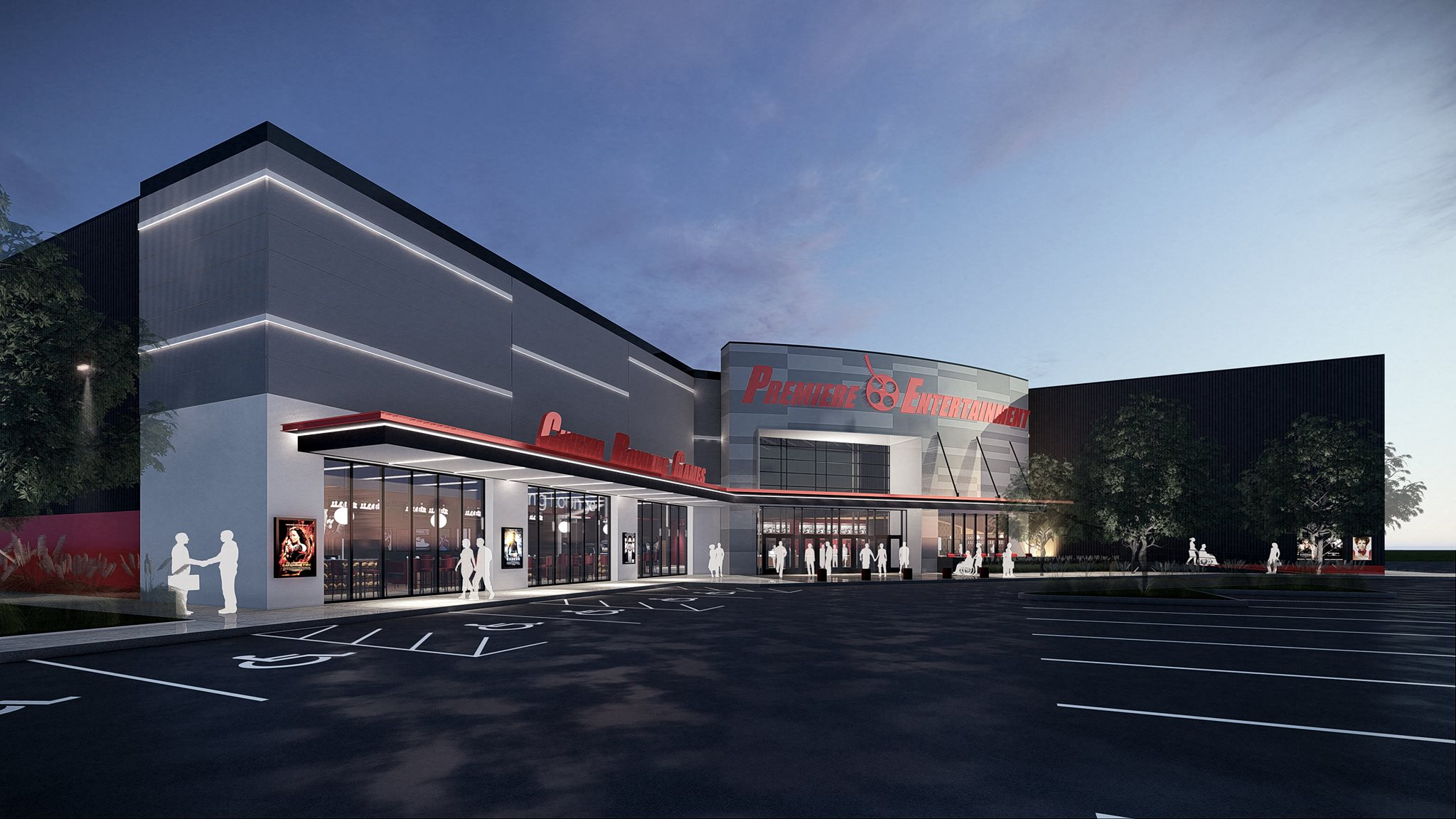 Pell City PREMIERE LUX Cine, Bowl & Pizza Pub – Coming Soon Photo