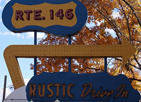 Rustic Tri View Drive-In Photo