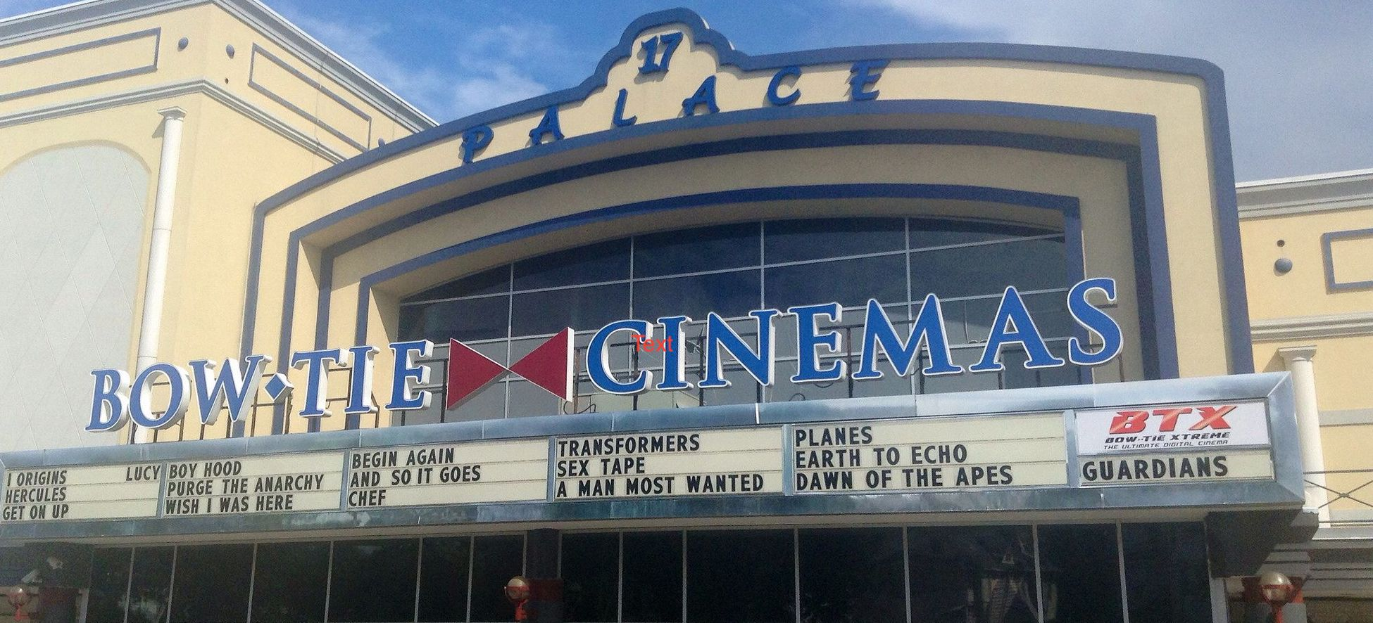Hero Image for Cinema City at the Palace