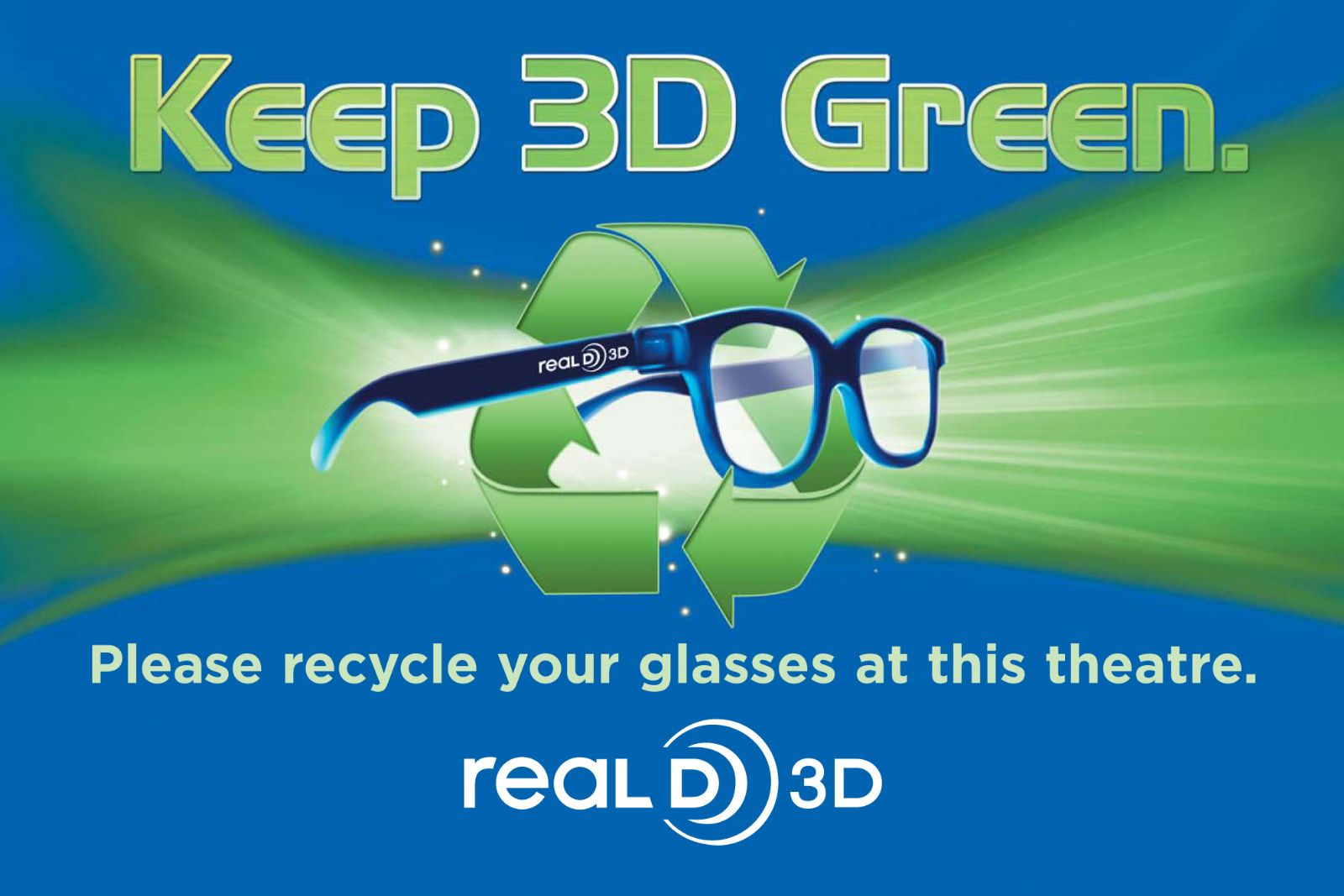 Colorful Frame 0.42mm Thickness Passive 3D Glasses for RealD 3D Cinemas and  LG Passive 3D