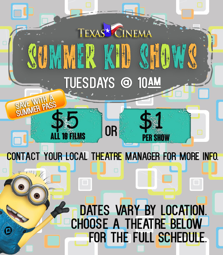 Summer Kid Shows 2014