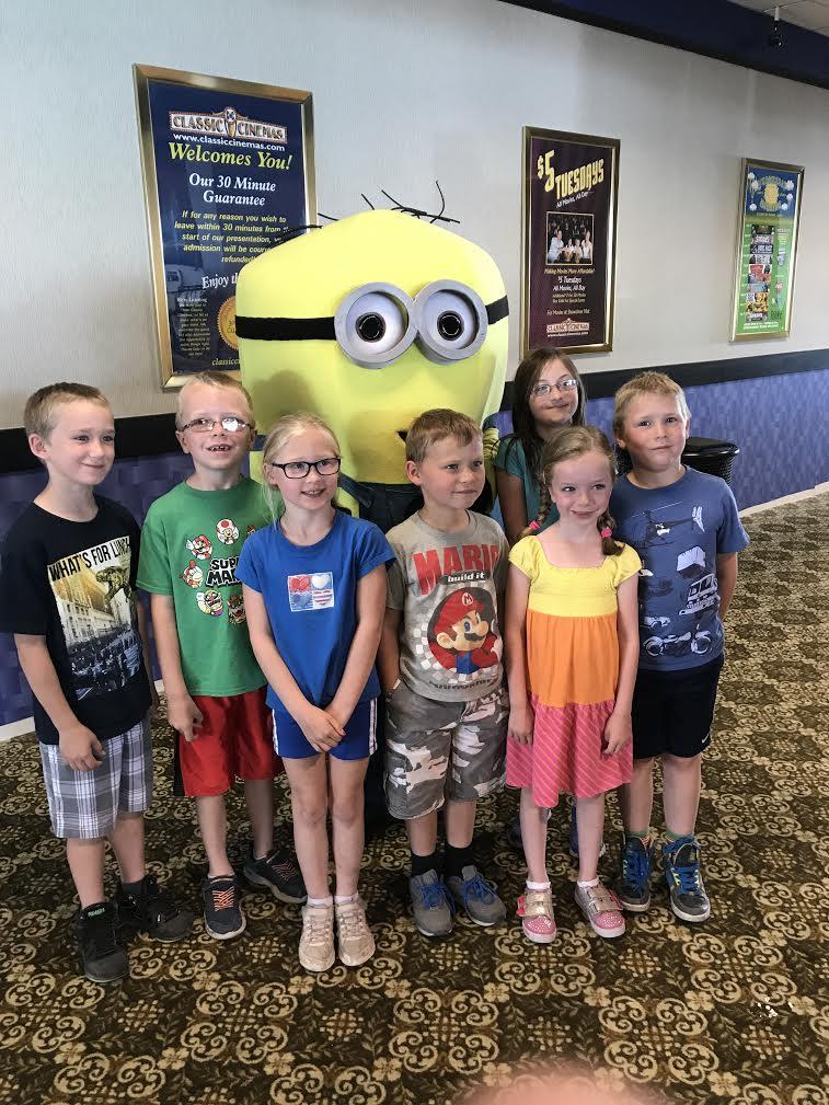 WMMS Kids with Minion Bob