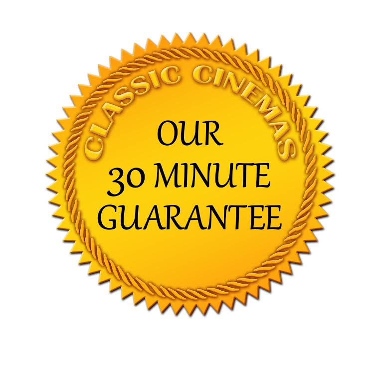 Our 30 Minute Guarantee