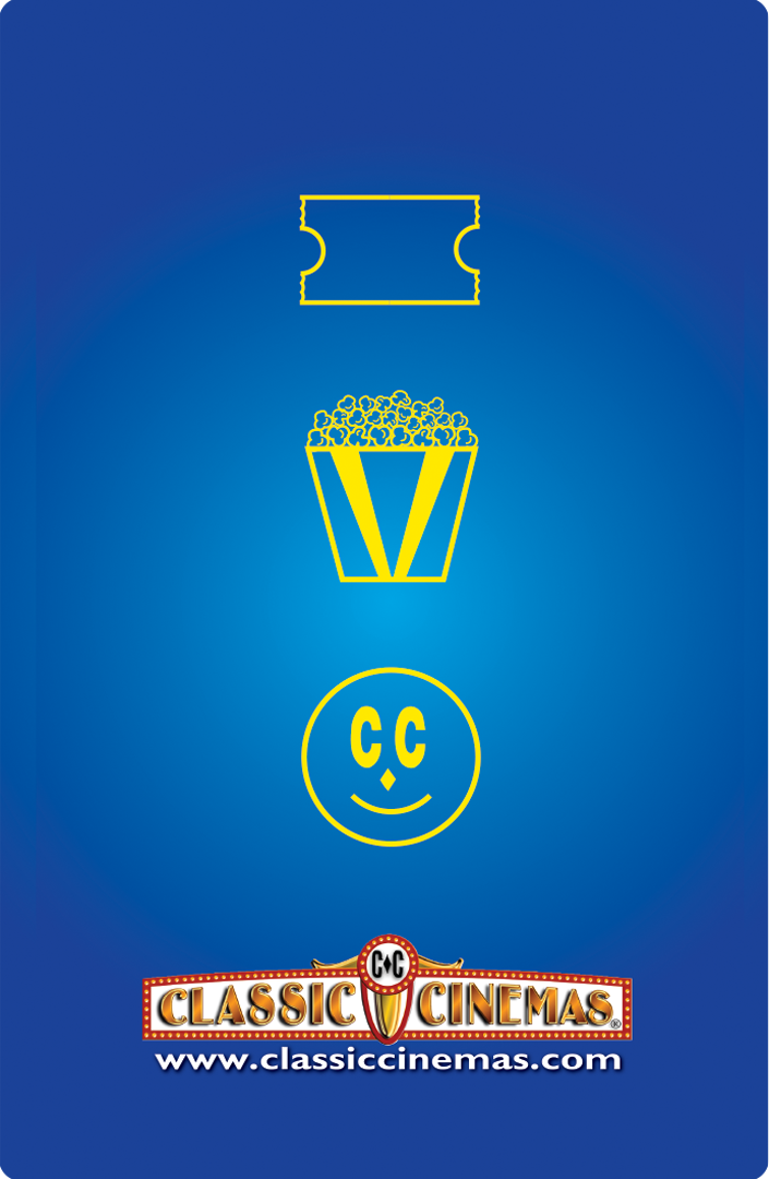 Classic Cinemas Gift Card Image