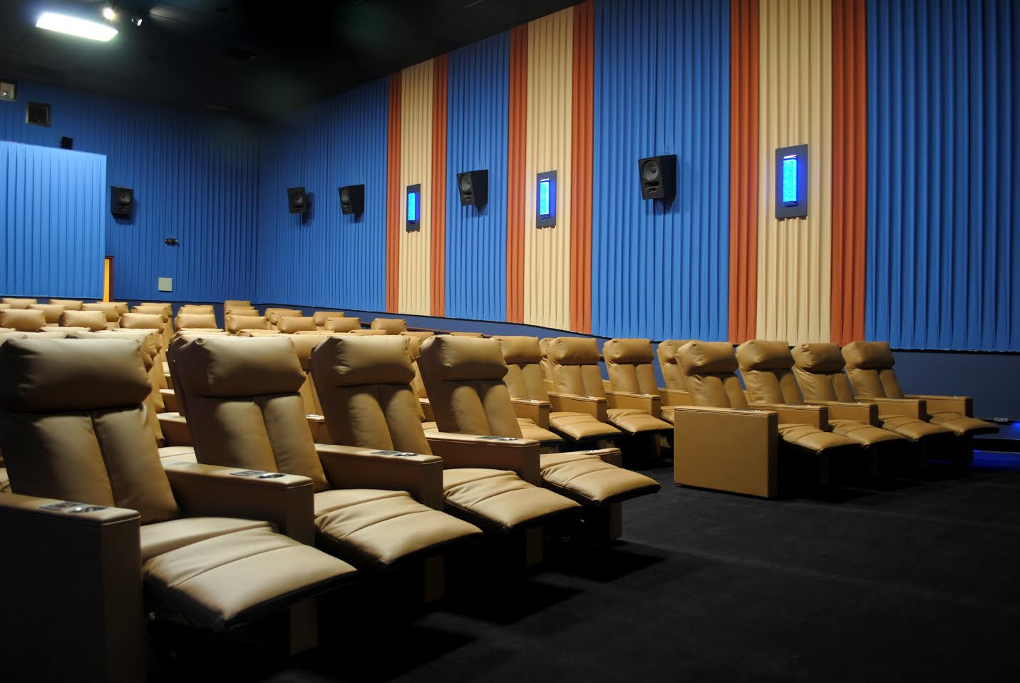 Cinema 12 New Seats