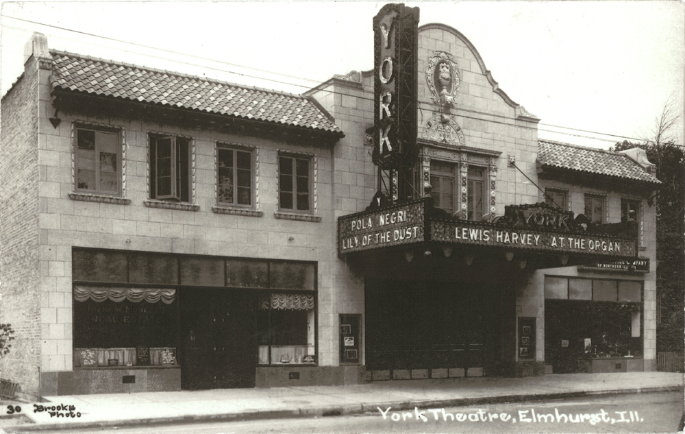 York Theatre in 1925