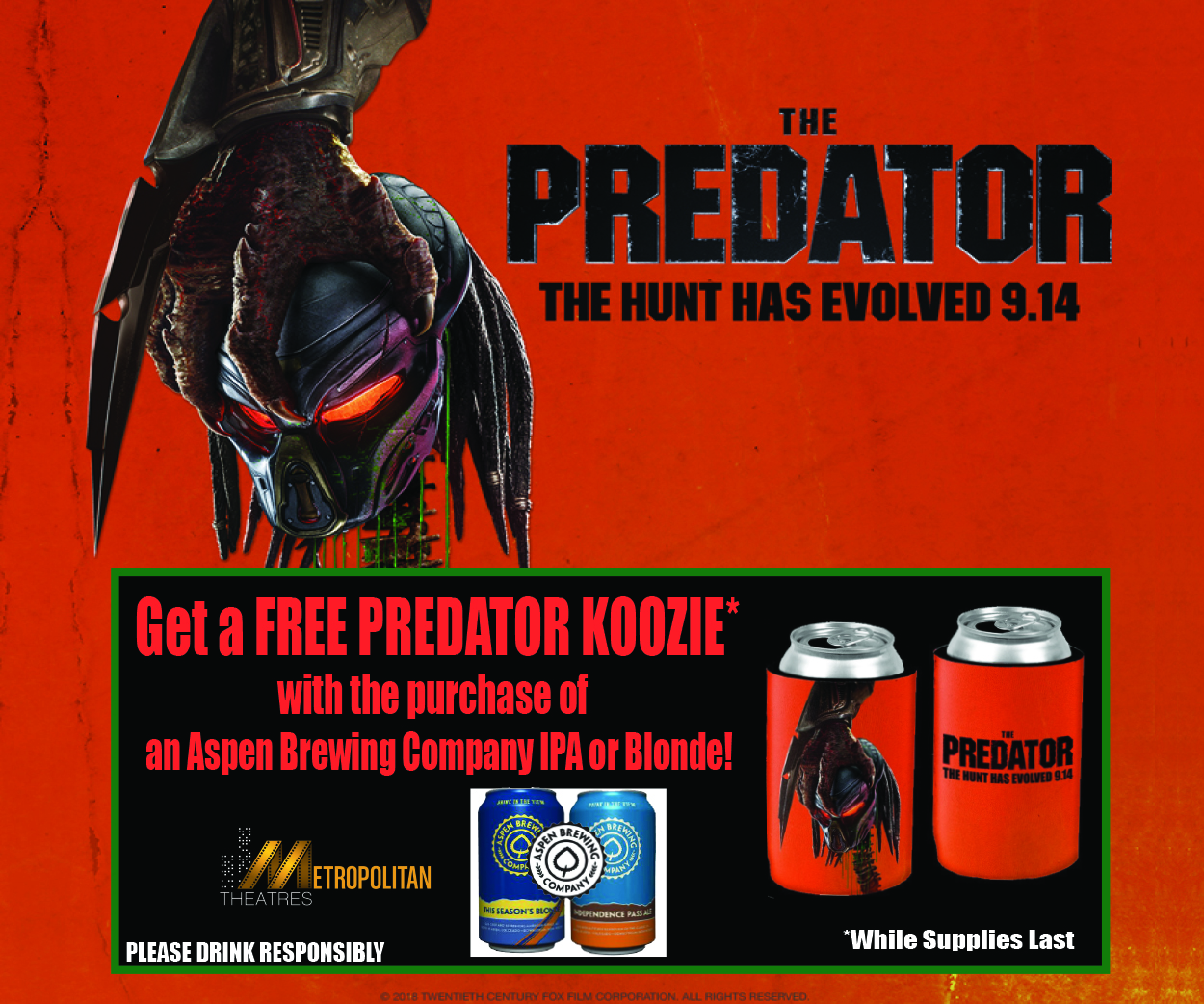 The Predator Bar Promotion