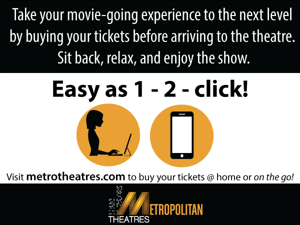 Self Ticketing at Metrotheatres.com