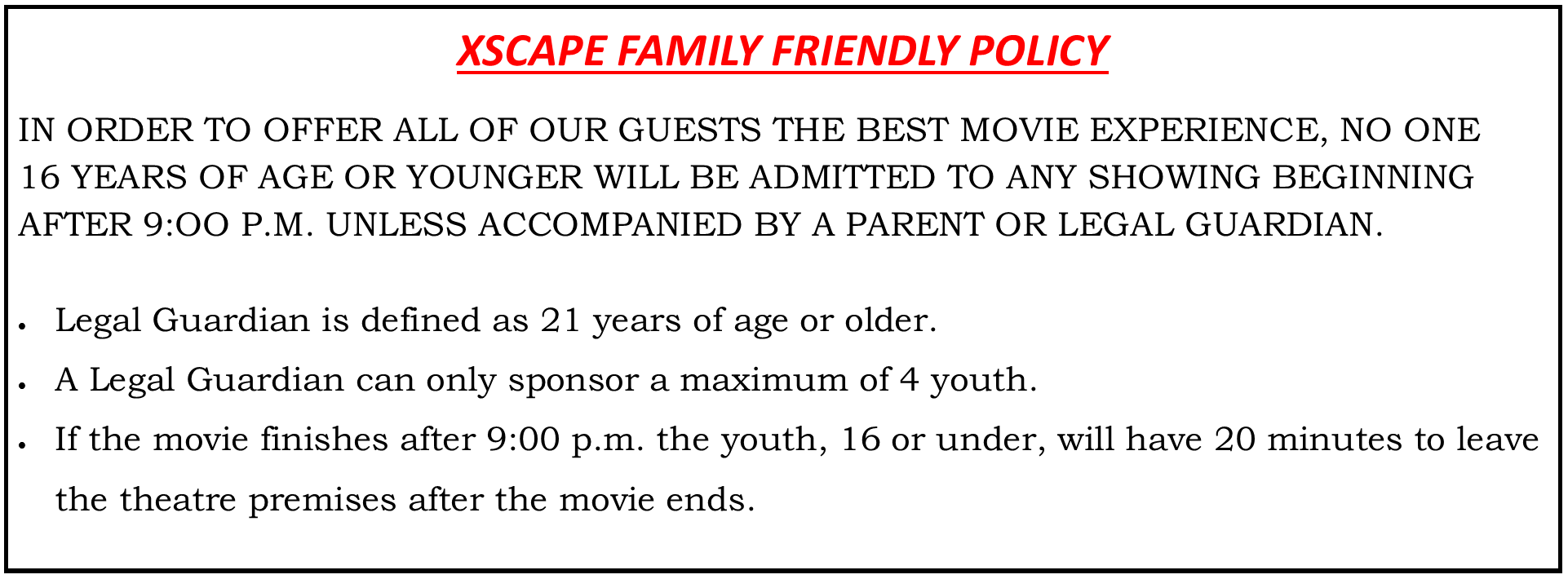 Xscape Theaters | OH - Northgate 14