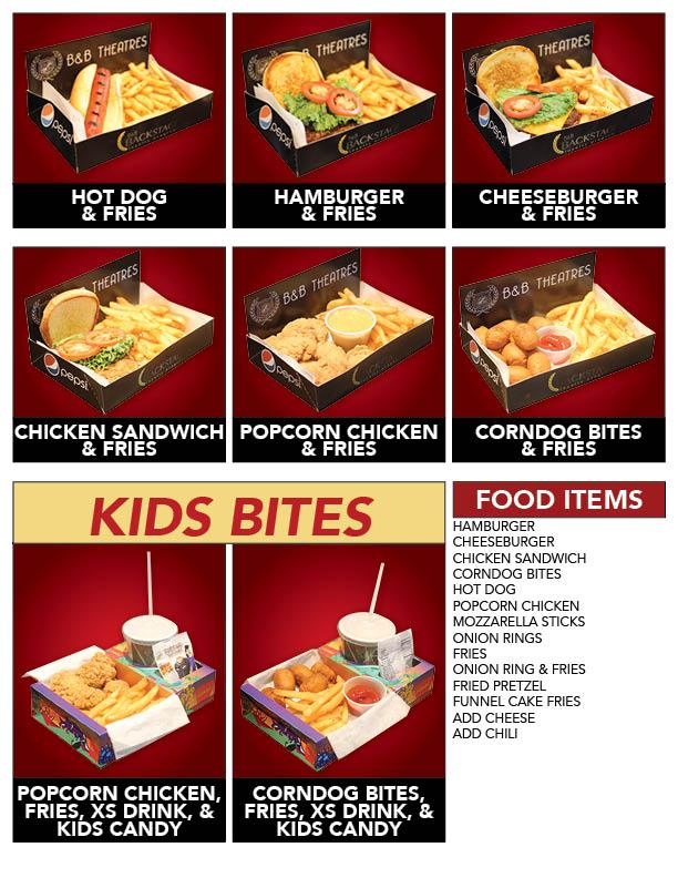 Patriot bb menu