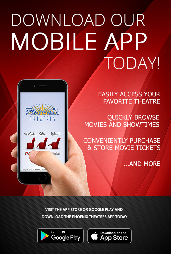 Phoenix Theatres | Mobile App | Programs