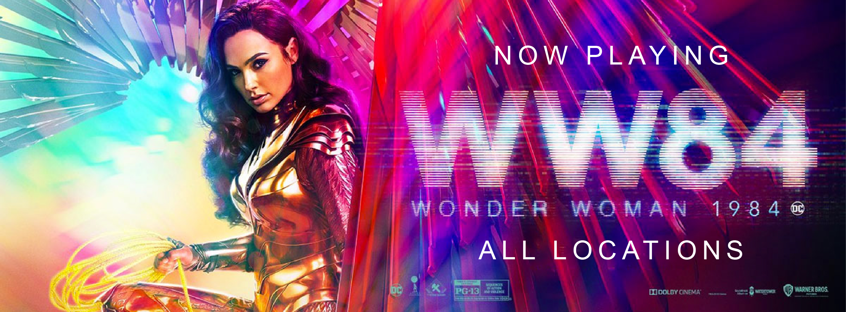 Get tickets to Wonder Woman 1984 Today!