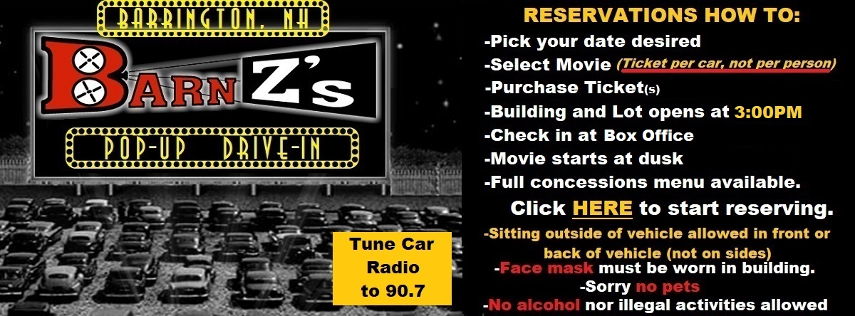 BarnZs Barrington Cinema Showtimes