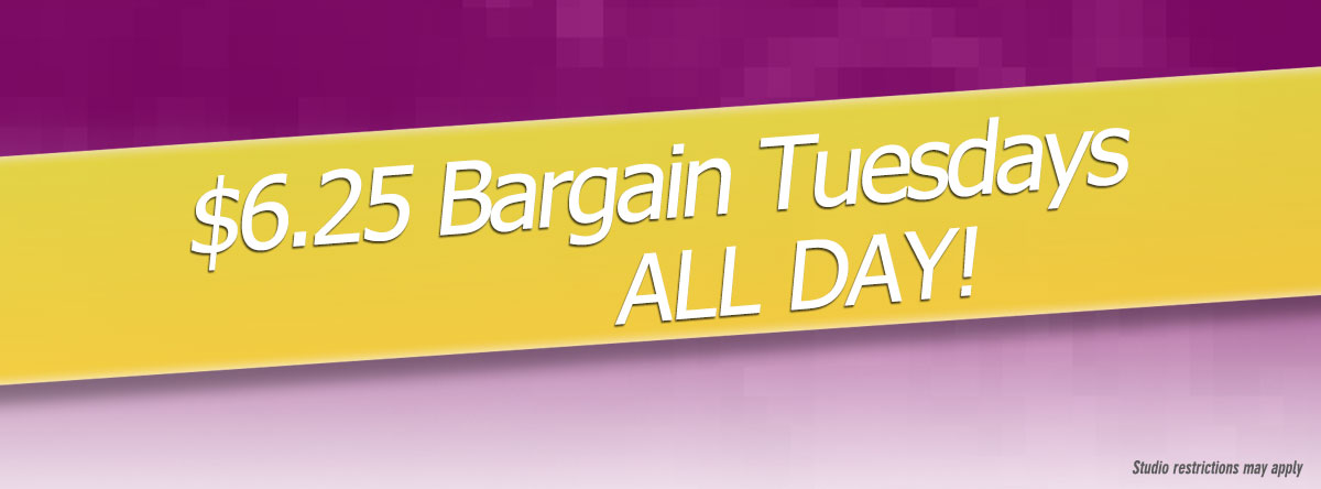 Slider for Bargain Tuesday Deal