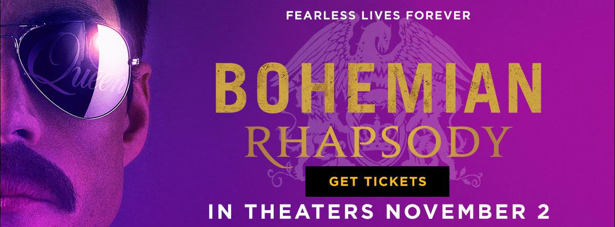 Bohemian Rhapsody advance tickets