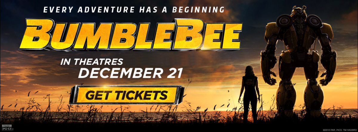 Bumblebee tickets on sale