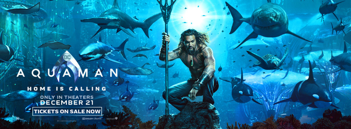 Aquaman - tickets on sale