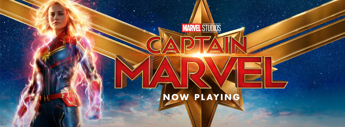 Captain Marvel Now Playing