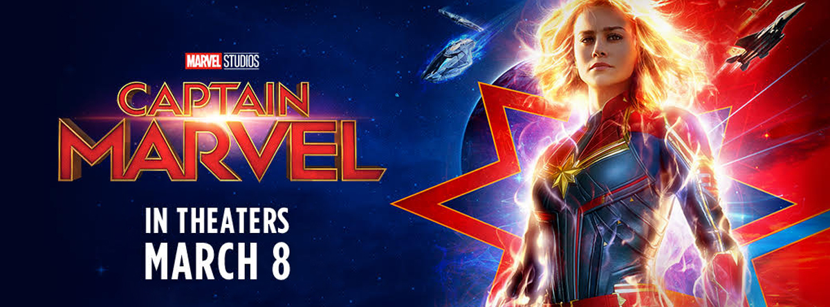 Captain Marvel March 8th tickets on sale now