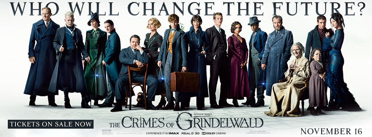 Fantastic Beasts: Crimes of Grindewald tickets on sale now